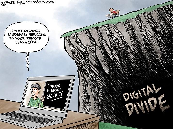 Editorial cartoon (2): Sept. 3, 2020