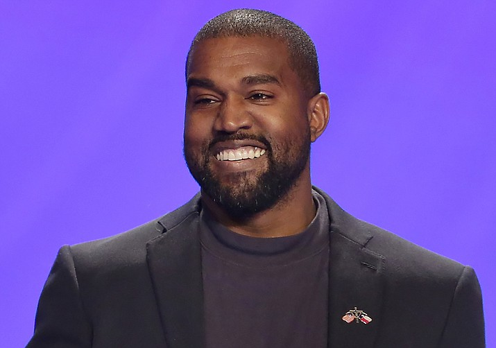 The rapper and music producer announced his intention to run for president on July 4. (AP Photo/Michael Wyke, File)