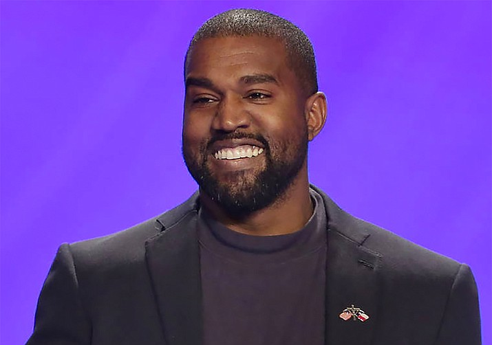 Kanye West's name will not be on the General Election ballot in Arizona for 2020, a judge ruled Thursday, Sept. 3. (AP file photo)