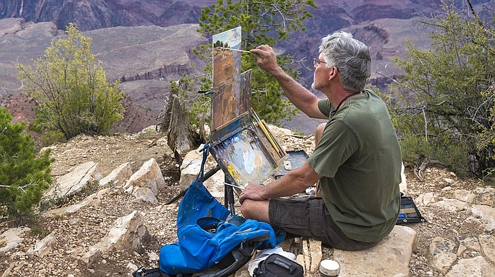 The Highlands Center for Natural History and the City of Prescott will hold the first-ever Prescott Plein Air Art Festival Oct. 1 to 3. Highlands Center for Natural History/Courtesy)