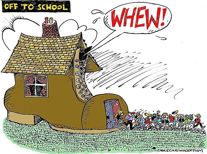 Editorial cartoon (2): Sept. 5, 2020