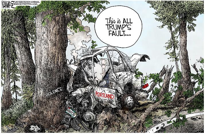 Editorial cartoon (1) Sept. 6, 2020
