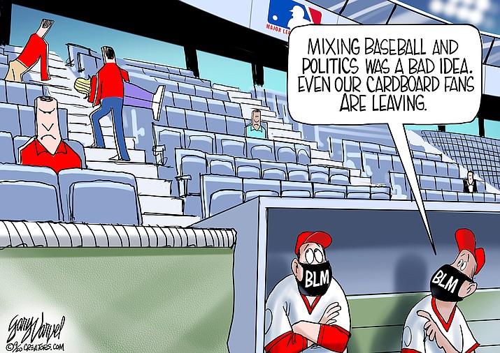 Editorial cartoon (2): Sept. 6, 2020