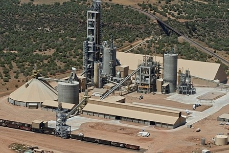 Drake Cement has earned the U.S. Environmental Protection Agency's (EPA's) Energy Star certification. Pictured is the company's Paulden plant. (Courtesy)