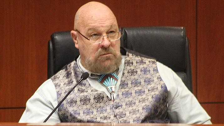 Mohave County Supervisor Buster Johnson is advocating for stricter enforcement of state COVID-19 requirements for businesses by the Mohave County Department of Public Health. (Miner file photo)
