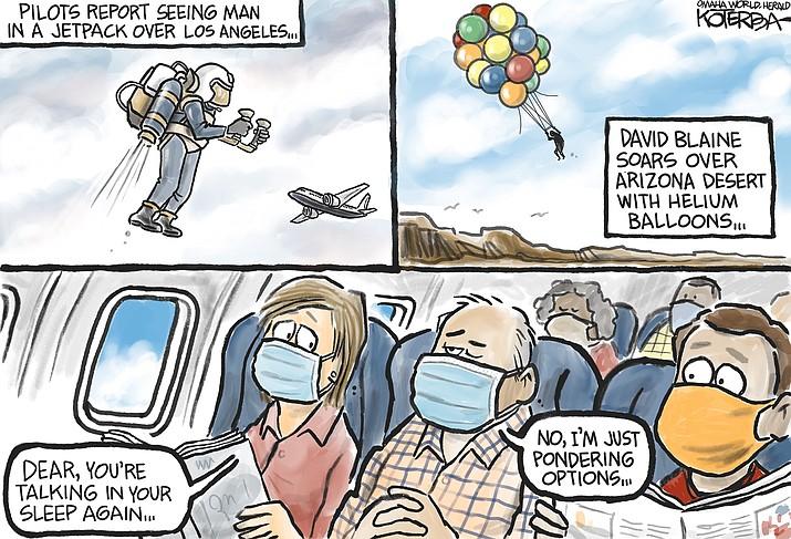 Editorial cartoon (2): Sept. 8, 2020
