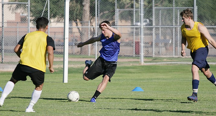 Camp Verde boys soccer plays its first regular season game of the season Thursday, Sept. 17 at Chino Valley. A year ago, Camp Verde finished 18-3. VVN/Bill Helm