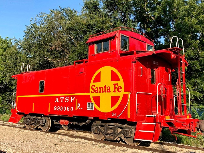 Caboose AT&SF 999060 will make its journey from Kansas to Williams to be included as a future exhibit at the Arizona Railroad Heritage Park and Musem. (Submitted photo)