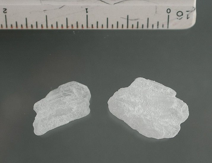 Mohave County Sheriff's Office deputies discovered more than 11 ounces of methamphetamine after a routine traffic stop on Friday, Aug. 28. (Photo by United State Department of Justice/Public domain, https://bit.ly/3bRDq7h)