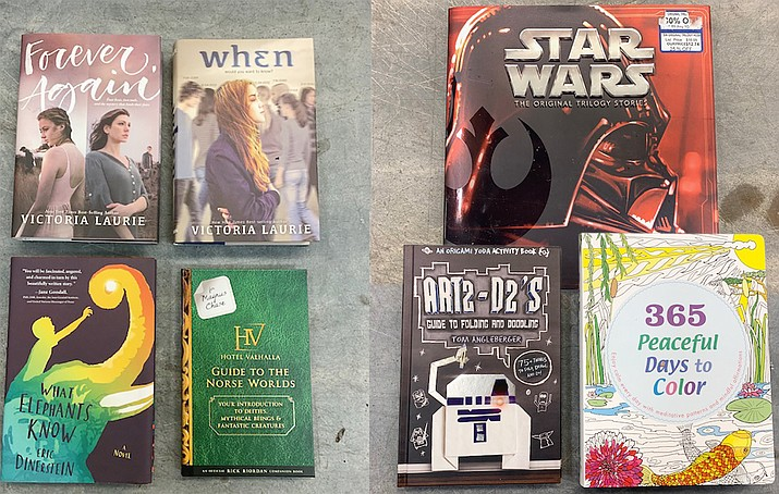 The Prescott Valley Police Department will be giving away books for teens and children at the outdoor Civic Center stage Wednesday Sept. 16 from 3 to 5 p.m. (PVPD)