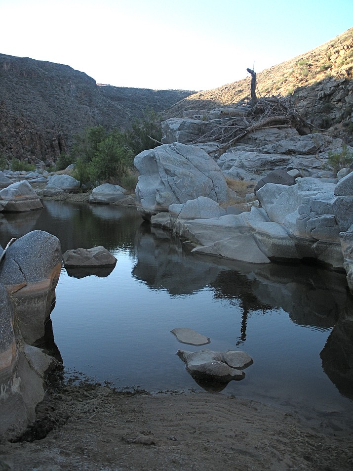 Shown is the Agua Fria River Canyon with some water. (Nigel Reynolds/Courtesy)