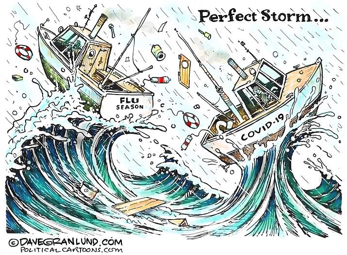 Editorial cartoon (2): Sept. 13, 2020