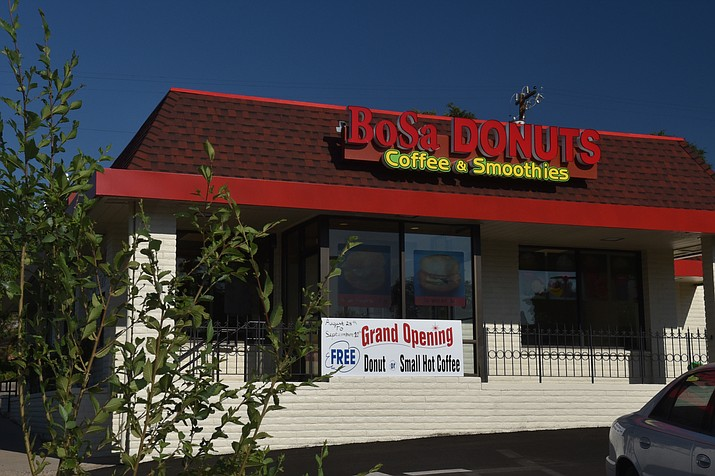 BoSa Donuts, 415 E. Gurley St., conducted a soft opening during the first weekend of September and is now fully operational. (Jesse Bretel/Courier)
