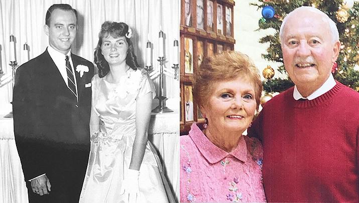 Paul and Elaine Schubert were married Sept. 12, 1959, in Las Vegas, Nevada. (Courtesy photos)