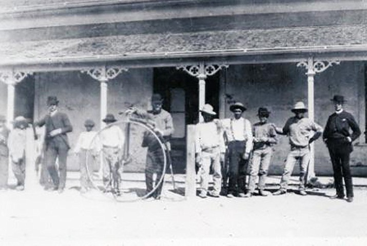 """Penny-Farthing"" Bicycle, Prescott, Arizona circa 1895. (Call #1095.0210.0000)"