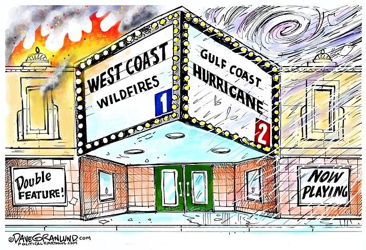 Editorial cartoon (1): Sept. 15, 2020