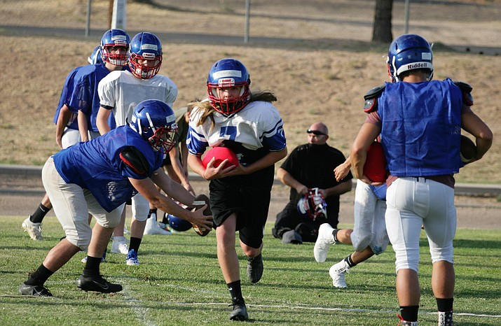 Camp Verde High School's varsity football squad prepares for its Friday, Oct. 2 season opener on the road against Arizona Lutheran. VVN/Bill Helm
