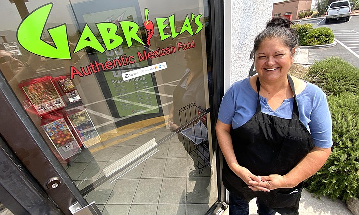 When Gabriella Goodman closed Gabriella's Restaurant in the Starbucks building at State Route 260 in March, she did not expect to reopen. Earlier this month, Goodman reopened her restaurant next to Dairy Queen. VVN/Bill Helm