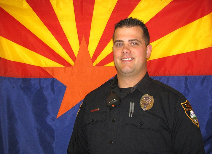 Flagstaff Police Officer Jarrett Shughart served the community since October 13, 2014. During that time, Officer Shughart served as a Field Training Officer and was currently assigned in a light-duty capacity due to a work-related injury. (Photo/FPD)
