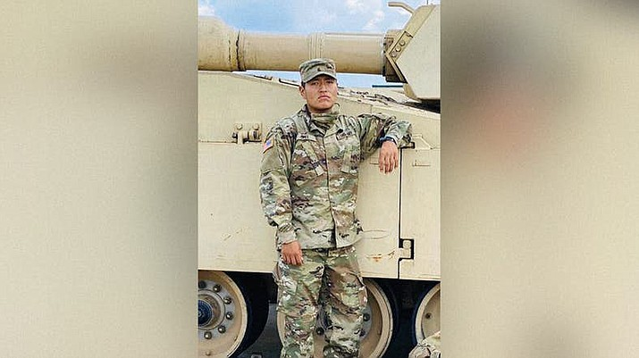 Pvt. Corlton L. Chee, 25, from Pinehill, New Mexico, died Sept. 9, days after he collapsed during physical training. (Photo courtesy of the U.S. Army)