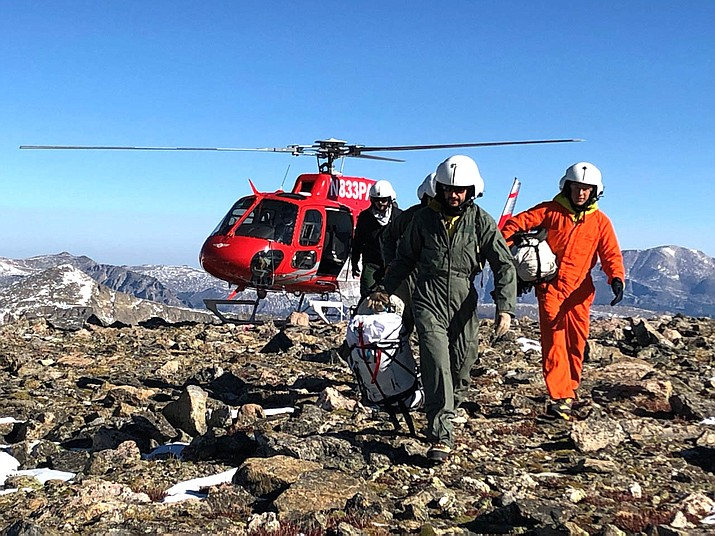 Rocky Mountain National Park Search and Rescue Team Members continue to search for Steve Grunwald.(Photo/NPS)