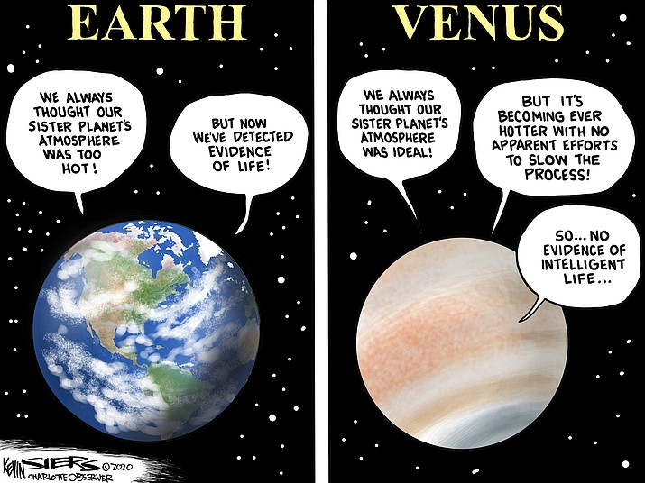 Editorial cartoon (1): Sept. 16, 2020