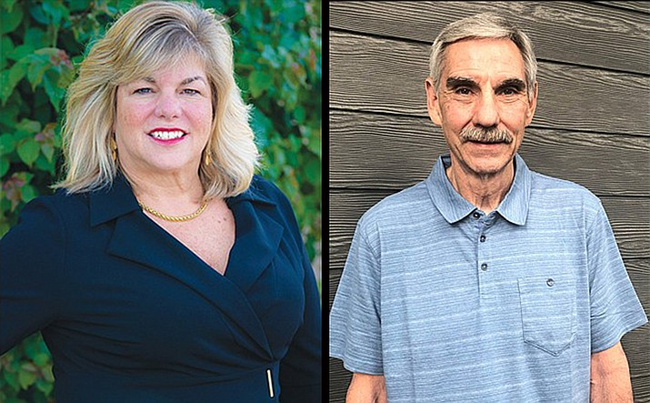 Dawn Trapp and Craig Fritsinger will be in the general election for the final Williams City Council seat. (Submitted photos)