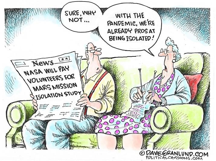 Editorial cartoon (2): Sept. 17, 2020