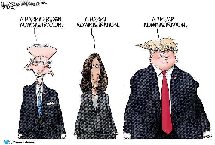 Editorial cartoon (2): Sept. 18, 2020