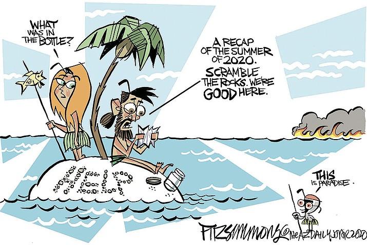 Editorial cartoon (1): Sept. 19, 2020