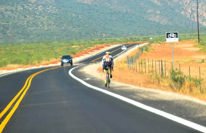 The recent paving of Ogden Ranch Road in Cottonwood has provided a great new biking road in the Verde Valley. VVN/Vyto Starinskas