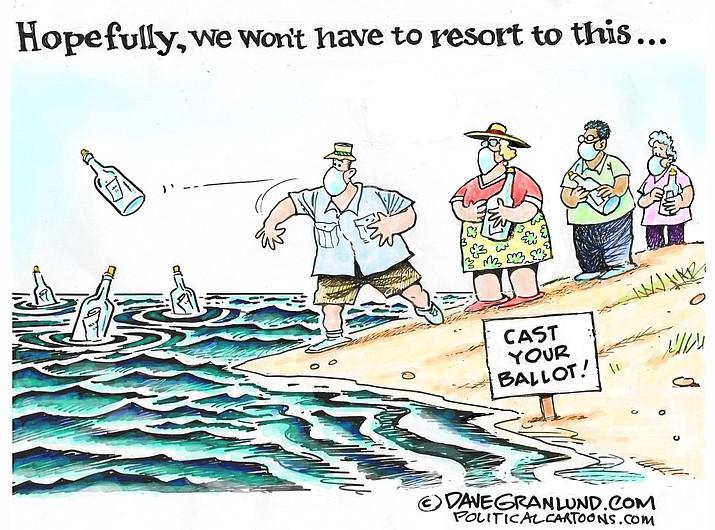 Editorial cartoon (2): Sept. 20, 2020