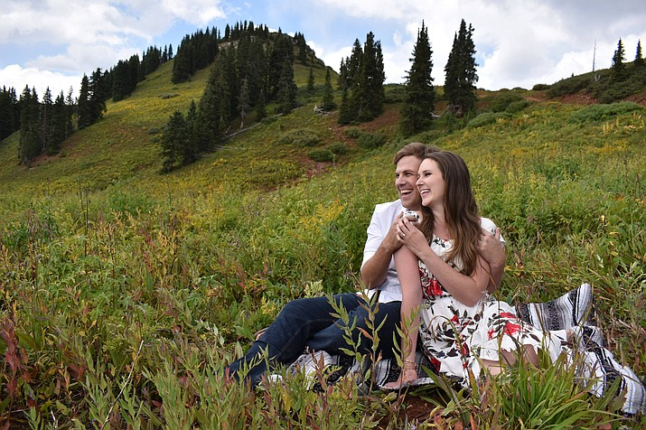 Samuel Richerd and Alexandra Stoddard are engaged to be married. (Courtesy)