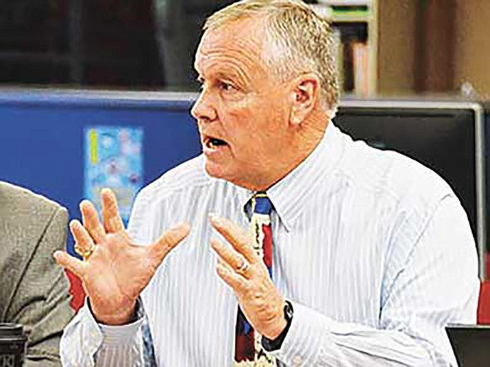 Tim Carter, superintendent of Yavapai County schools. (Courier file)