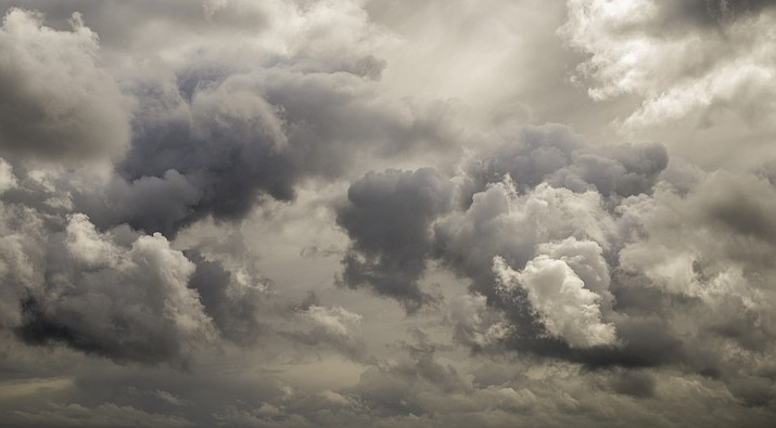 According to the National Weather Service, there is a 10% chance of rain on Monday, Sept. 21 in the Kingman area. (Adobe image)