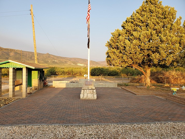 Clear Creek Cemetery Association is selling engraved bricks for its Pam 'Monie' Jackson Volunteer Memorial Area. Photo courtesy Clear Creek Cemetery Association