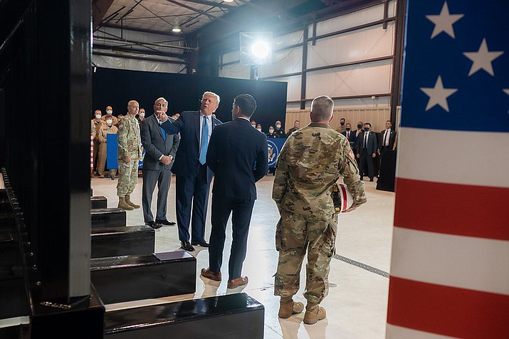 U.S. President Donald Trump has been a frequent visitor to Arizona as he battles to win the state in the Nov. 3 election. (Official White House/Public domain)