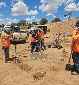 The Navajo Nation uses Cares Act money in a large scale effort, known as the Navajo Nation/HIS Covid-19 Water Access Mission, to provide water points, assistance with water fees and water storage containers for residents living in homes with no access to piped water. (Photo/OPVP)