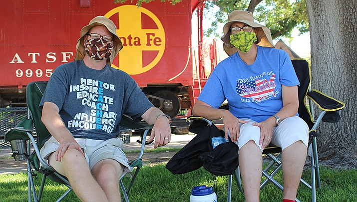 The mask mandate in Kingman has been copasetic with some residents, but has now resulted in a recall effort aimed at Kingman Mayor Jen Miles and city councilmembers who supported the mayor's face covering proclamation. (Miner file photo)