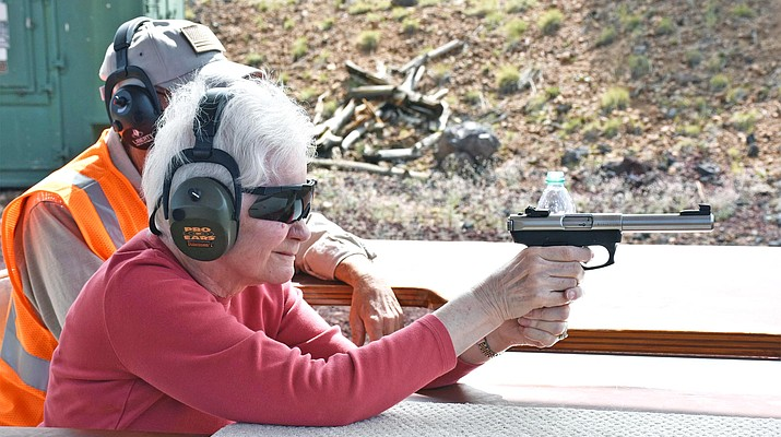 Time at the range: Sportsman's group hosts women's only shoot
