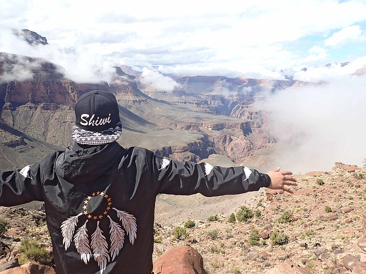 Six Zuni youth spent three days hiking and exploring their cultural ties and connections to the Grand Canyon through the Zuni Youth Enrichment Program.  (Photos/Zuni Youth Enricment Program)