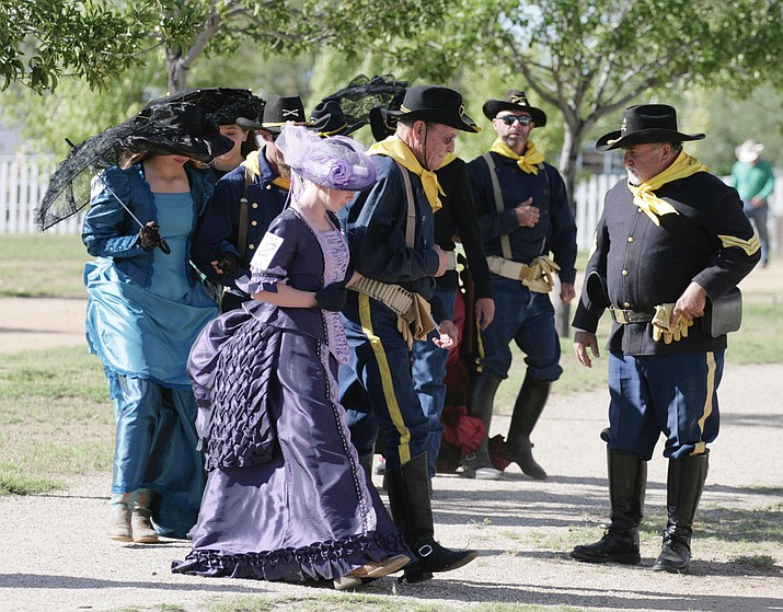 Fort Verde State Historic Park in Camp Verde will host the horsemanship portion of this year's Colonel's Daughter competition. Due to COVID-19 restrictions, the poise and personality portion of the competition will be held at the downtown gazebo on Main Street next to Parks and Recreation. VVN/Bill Helm
