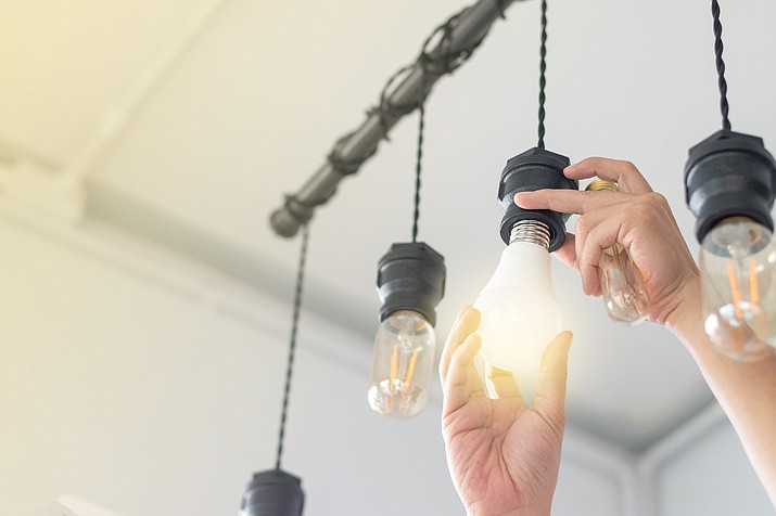We should install smart, adjustable color temperature light bulbs throughout the home to help reinforce the body's circadian rhythm and improve energy, mood and productivity. (Courier stock photo)