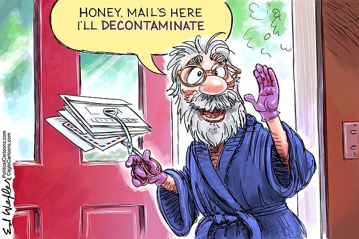 Editorial cartoon (1): Sept. 26, 2020