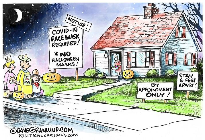 Editorial cartoon (1): Sept. 28, 2020