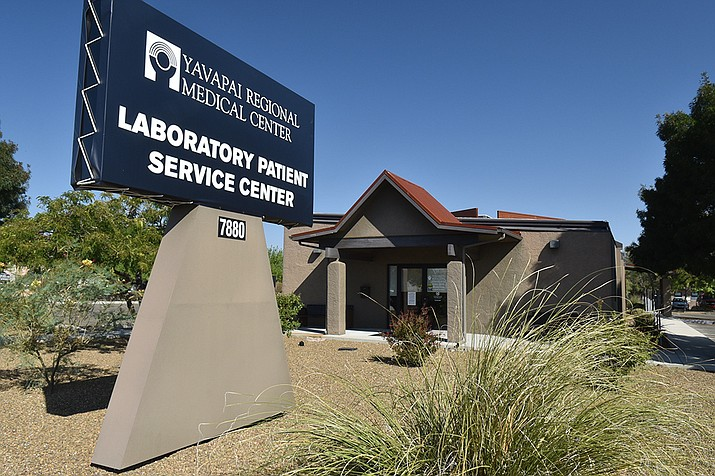 Yavapai Regional Medical Center is opening a state-of-the-art outpatient lab testing center at 7880 E. Florentine Road in Prescott Valley next week. (Jesse Bertel/Courier)