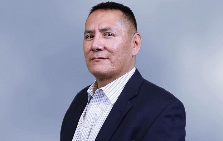 Diné College Marketing and Communications Director George R. Joe is one of seven national finalists for its Communicator of the Year award. (Photo/Diné College)