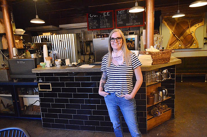 Jennifer Epperson will operate the Mine Café in Jerome. She bought the business with her husband Josh. VVN/Vyto Starinskas