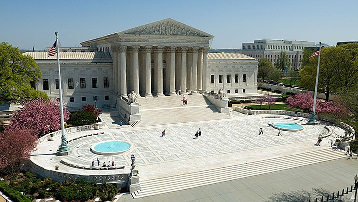 The U.S. Supreme Court said Friday, Oct. 2 that it will review an Arizona law that prohibits anyone but a family member or caregiver from returning another person's early voting ballot. (Photo by the Architect of the Capitol office/Public domain)
