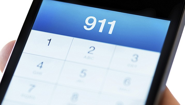 You can now text to law enforcement if you can't call and need help. (Courier stock image)